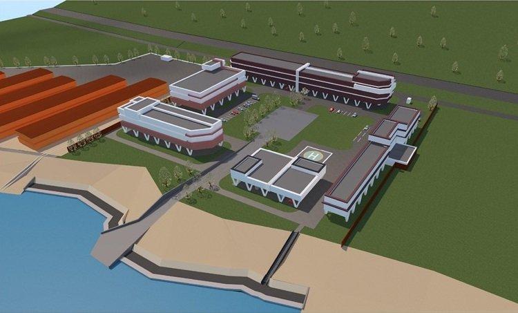 Новый гостинично-ресторанный комплекс появится на Гребном канале 2