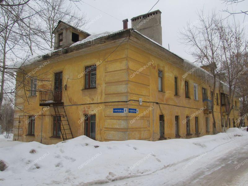 комната в доме 4 в 1-м Кемеровском переулке