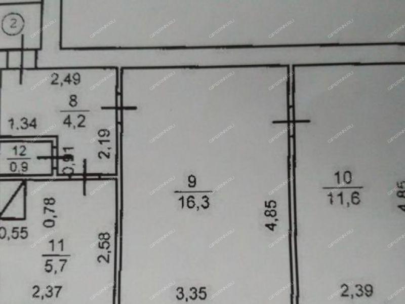 двухкомнатная квартира на улице Свердлова дом 12 город Горбатов