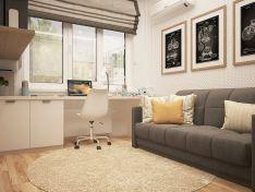 Пять вариантов создания мини-кабинета в квартире