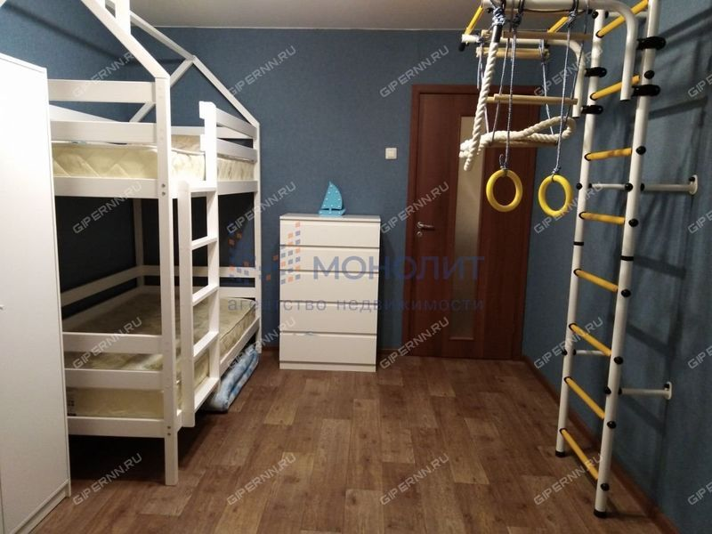 трёхкомнатная квартира на улице Авангардная дом 10