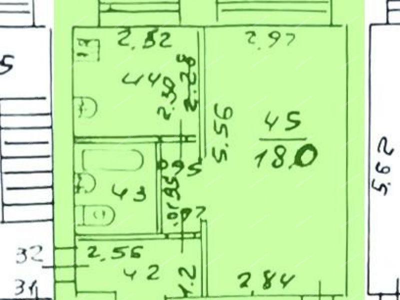 однокомнатная квартира на проспекте Ленина дом 49 город Саров