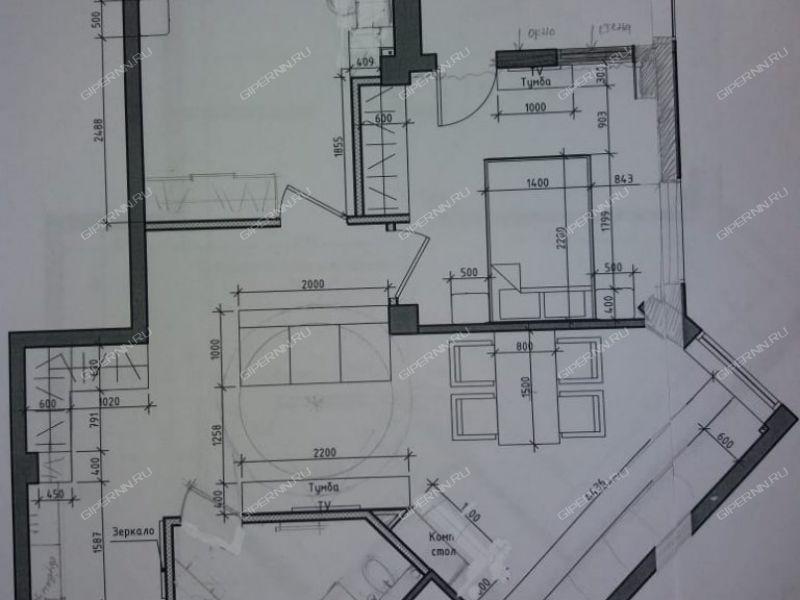 двухкомнатная квартира на Ошарской улице дом 80