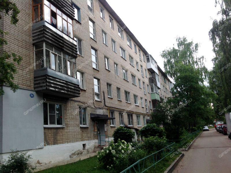 трёхкомнатная квартира в микрорайоне 2-й дом 26 город Кстово