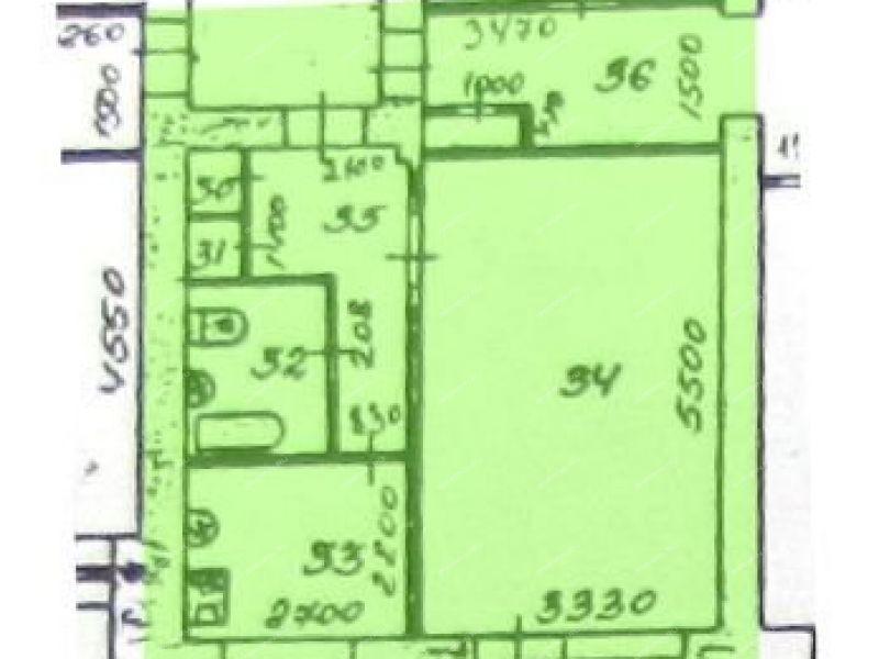 однокомнатная квартира на улице Юбилейная дом 26 город Первомайск